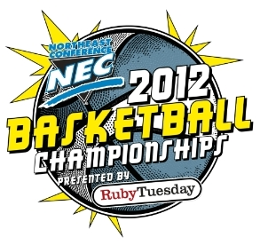 2012 NEC Basketball Tournament Logo