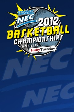 NEC Basketball Tournament Logo Template