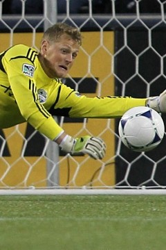 Seattle Sounders GK Bryan Meredith