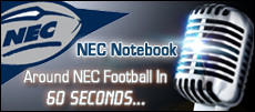 NEC Football Notebook