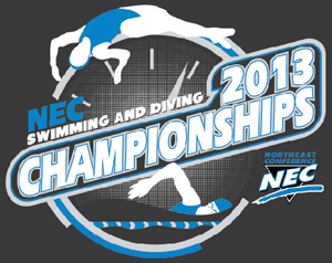2013 NEC Swimming & Diving Championship Logo