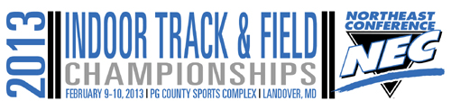 2013 NEC Indoor Track & Field Logo